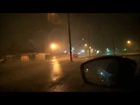 Paducah & Calvert City Kentucky Tornado and Inflow Winds-October 31st, 2013