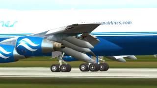 Ferihegy (LHBP) Approach Boeing 747-200