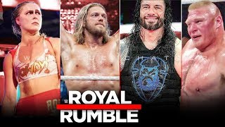 WWE Royal Rumble 2020 Full Predictions & Results   Returns   Winners - Royal Rumble 2020 Highlights