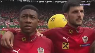 Austria vs Brazil National Anthem (International Friendlies)