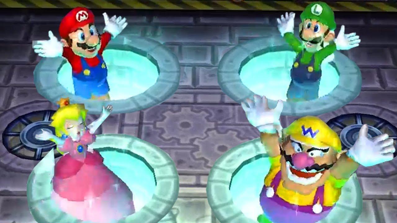 Peach And Mario All Games