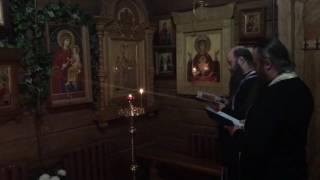 Молебен с акафистом перед