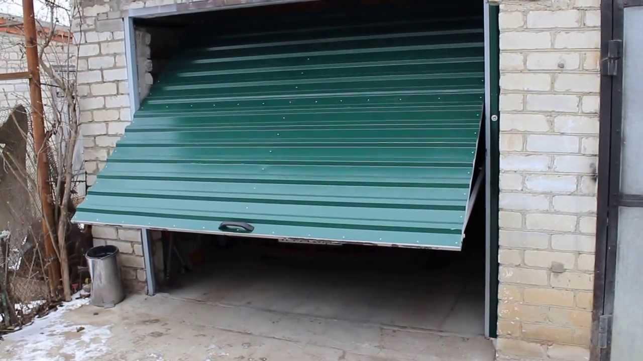Как сделать железная дверь для гаража куплю гараж в щелково гск скат