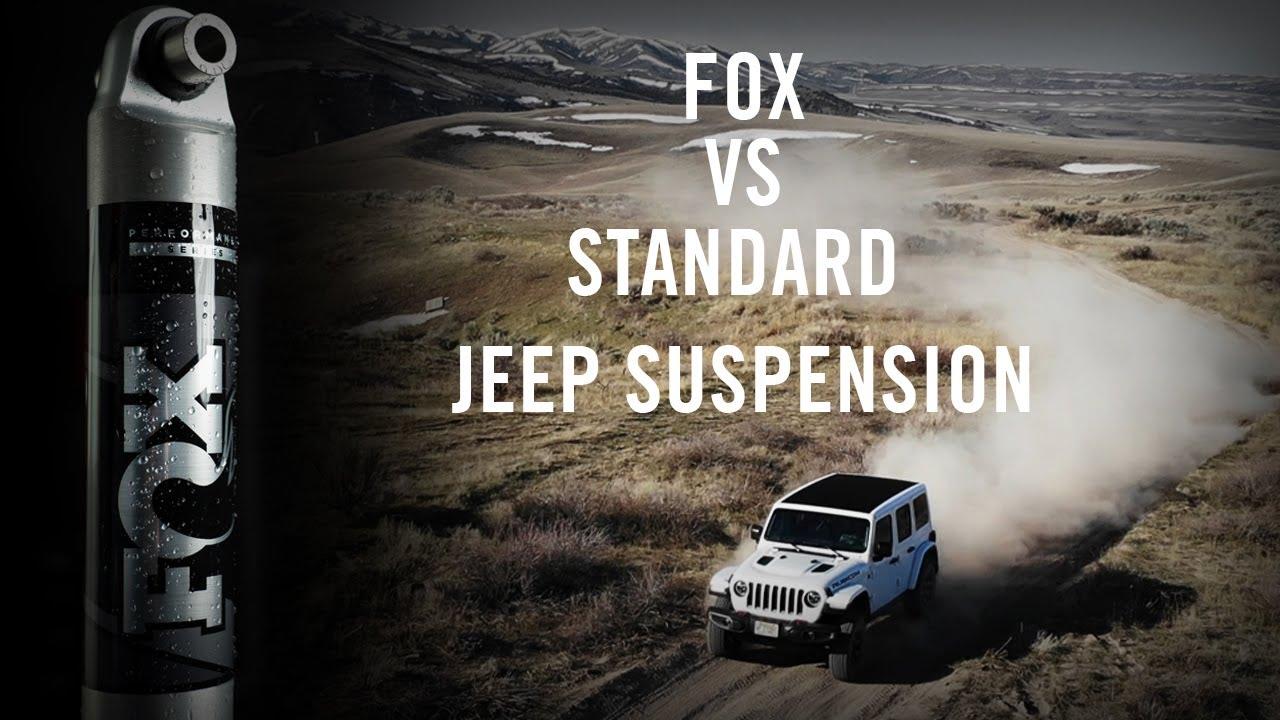 How Performance Series 2.0 Shocks Improve a Standard Jeep's Handling | FOX