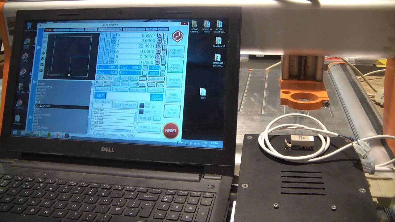 UCCNC CNC controller for CNC conrol and external hardware Control