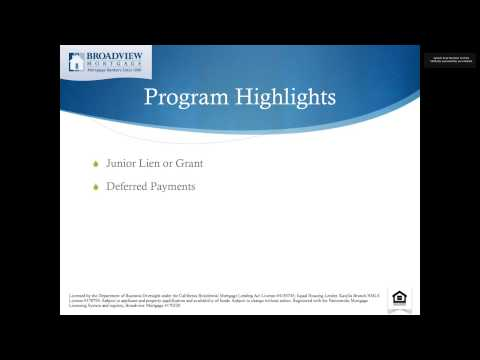 Down Payment Assistance by Broadview Mortgage