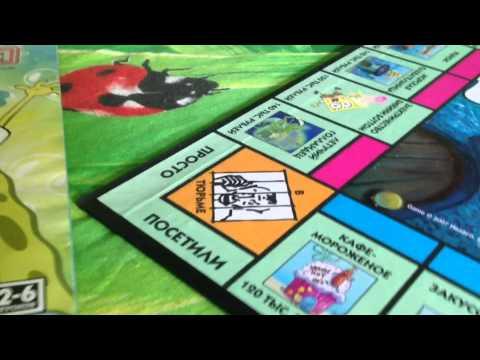 Обзор Игры Монополия Губка Боб
