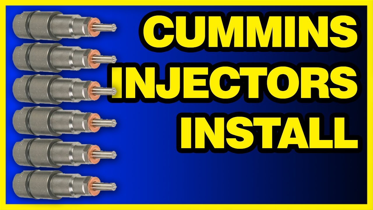 Cummins Injectors Install: 98-02 Dodge