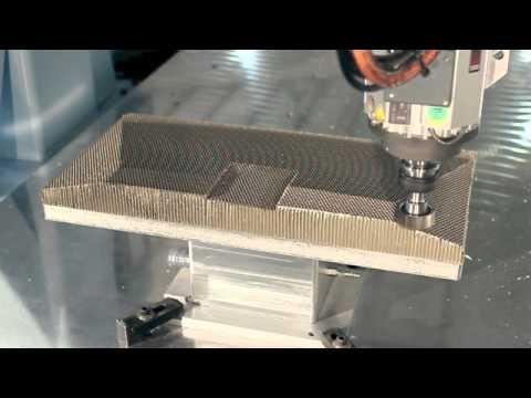 Honeycomb Demo Highlight Aerospace Dms 5 Axis Cnc