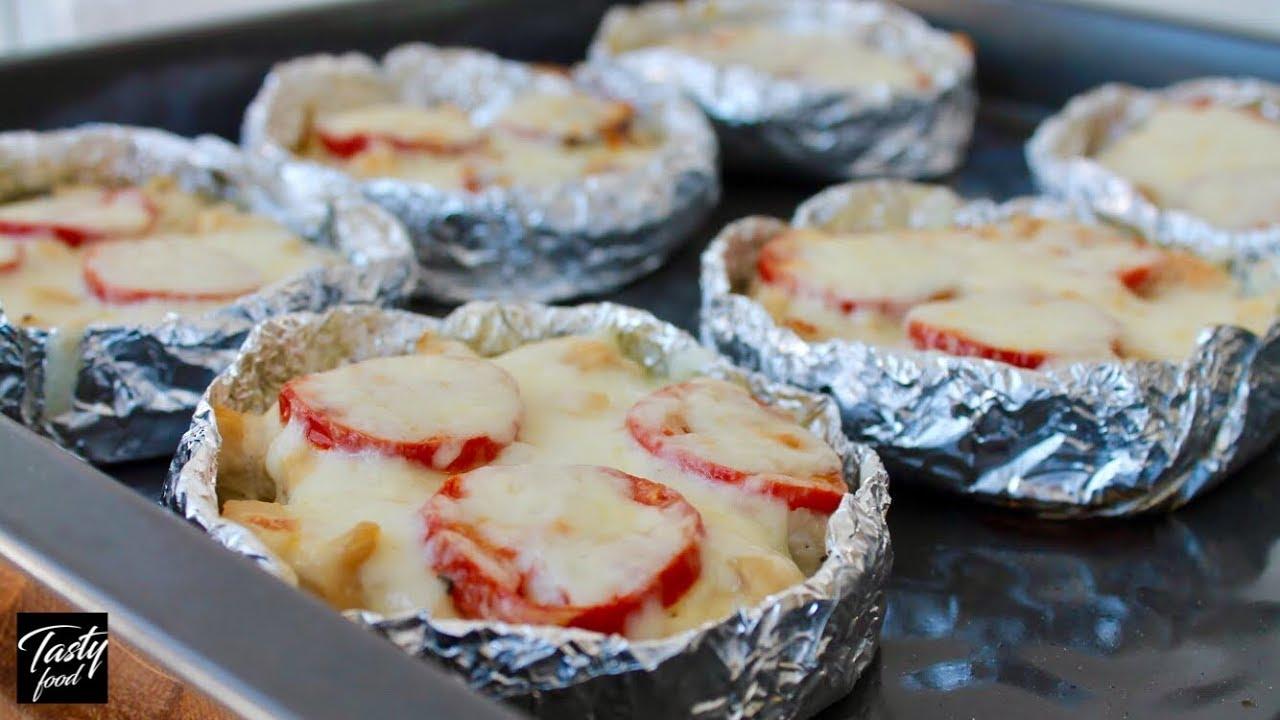 Картинки по запросу Запеченный картофель с мясом в духовке. Оригинально, просто и вкусно!