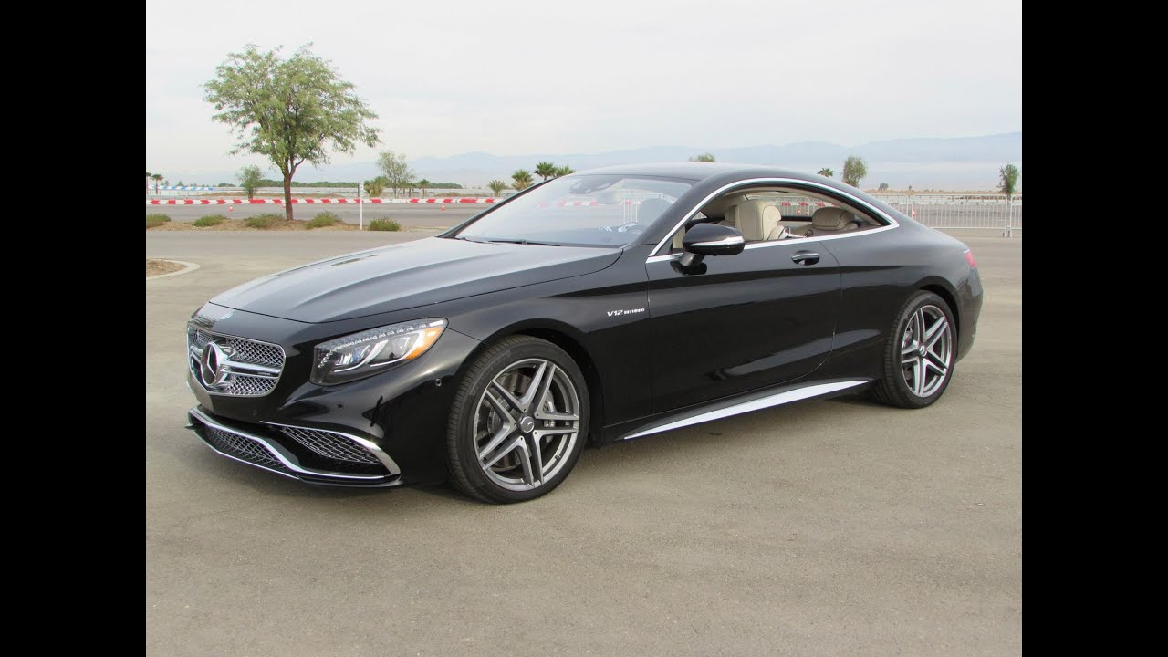2015 mercedes benz s65 amg coupe v12 biturbo start up for Mercedes benz amg hatchback price