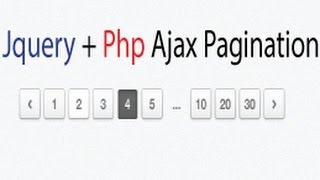 Advanced Jquery Pagination using Ajax and php - Styling the links Mp3