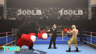 人熊大戰!73歲退休拳擊手 赤手空拳對抗黑熊