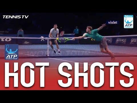 Dimitrov Strikes Back To Back Hot Shots Nitto ATP Finals 2017