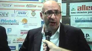 06-11-2011: Intervista post derby a Vincenzo Di Pinto e Pino Lorizio