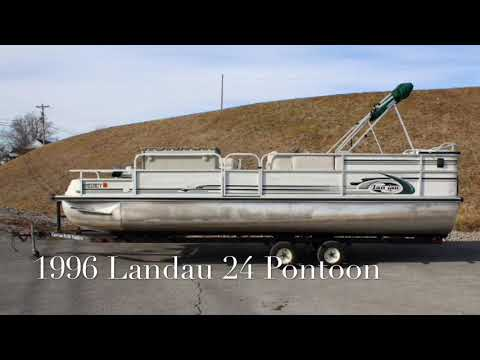 1996 Landau DX 24 Pontoon Lake Cumberland Marine