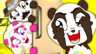 Peek A Boo Song | Panda Bo Nursery Rhymes & Kids Songs