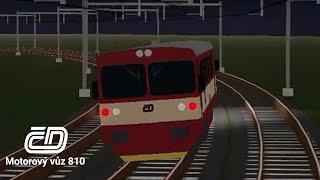 ČD Motor Car 810   Terminal Railways Roblox