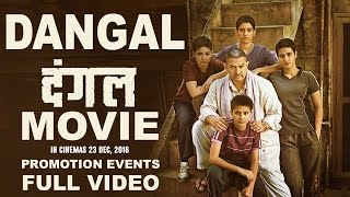 """Dangal"" Promotion Events (2016) 