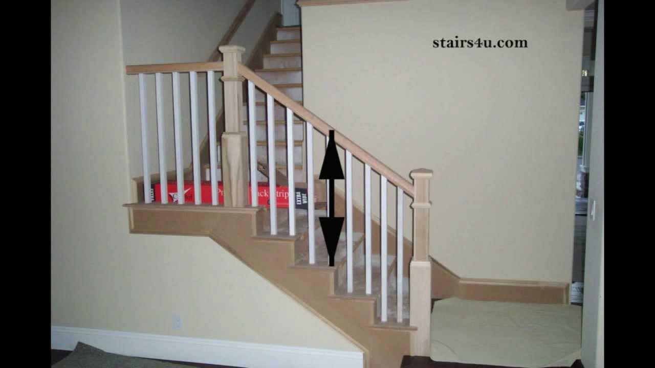 Is This A Stair Handrail Or Guardrail?   Stairway Construction   YouTube