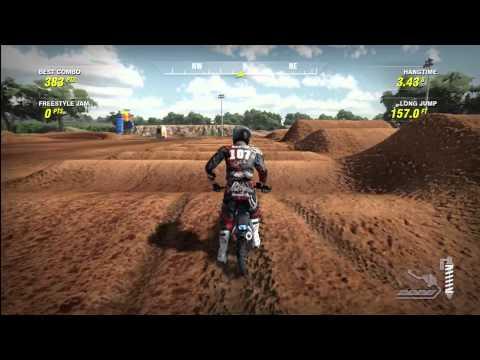 MX vs. ATV Alive: Hidden Pit bike in Free Ride