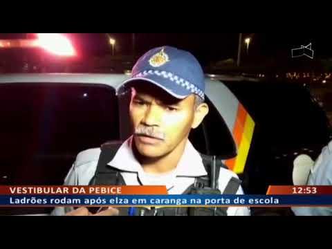 DF ALERTA - Ladrões rodam após elza em caranga na porta de escola