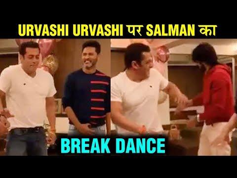 Salman Khan Dance With Prabhu Deva On URVASHI URVASHI | Kiccha Sudeep | Dabangg 3