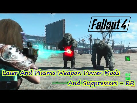 [PS4版fallout4]フォールアウト4 Mod Laser And Plasma Weapon Power Mods And Suppressors - RR