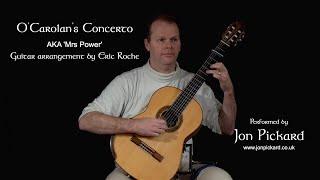 O'Carolan's Concerto - (arr. Eric Roche), by Jon Pickard