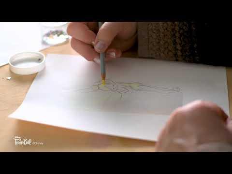 Art of the Craft | Disney Peter Pan Tinkerbell Ornament