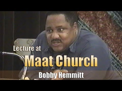 Bobby Hemmitt | Lecture at Maat Church (Official Bobby Hemmitt Archives) - Pt. 1/8  (2Oct03)