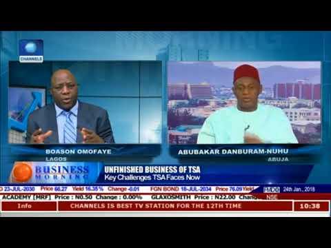 Future of Buhari's TSA hangs on proper legislative backing