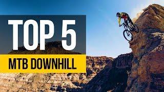 INSANE DOWNHILL TOP FIVE • Downhill Mountain Bike POV Speed Runs