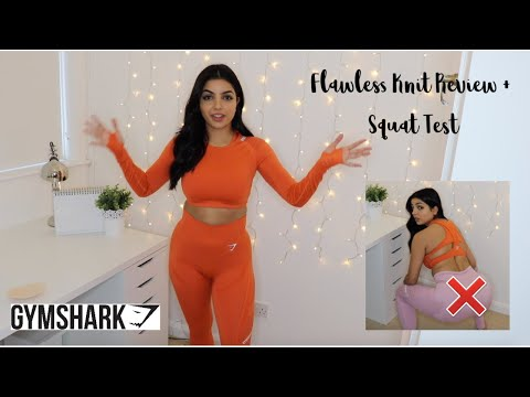 a62c19684a696 GYMSHARK FLAWLESS KNIT REVIEW + SQUAT TEST | CIRCUIT WORKOUT - YouTube