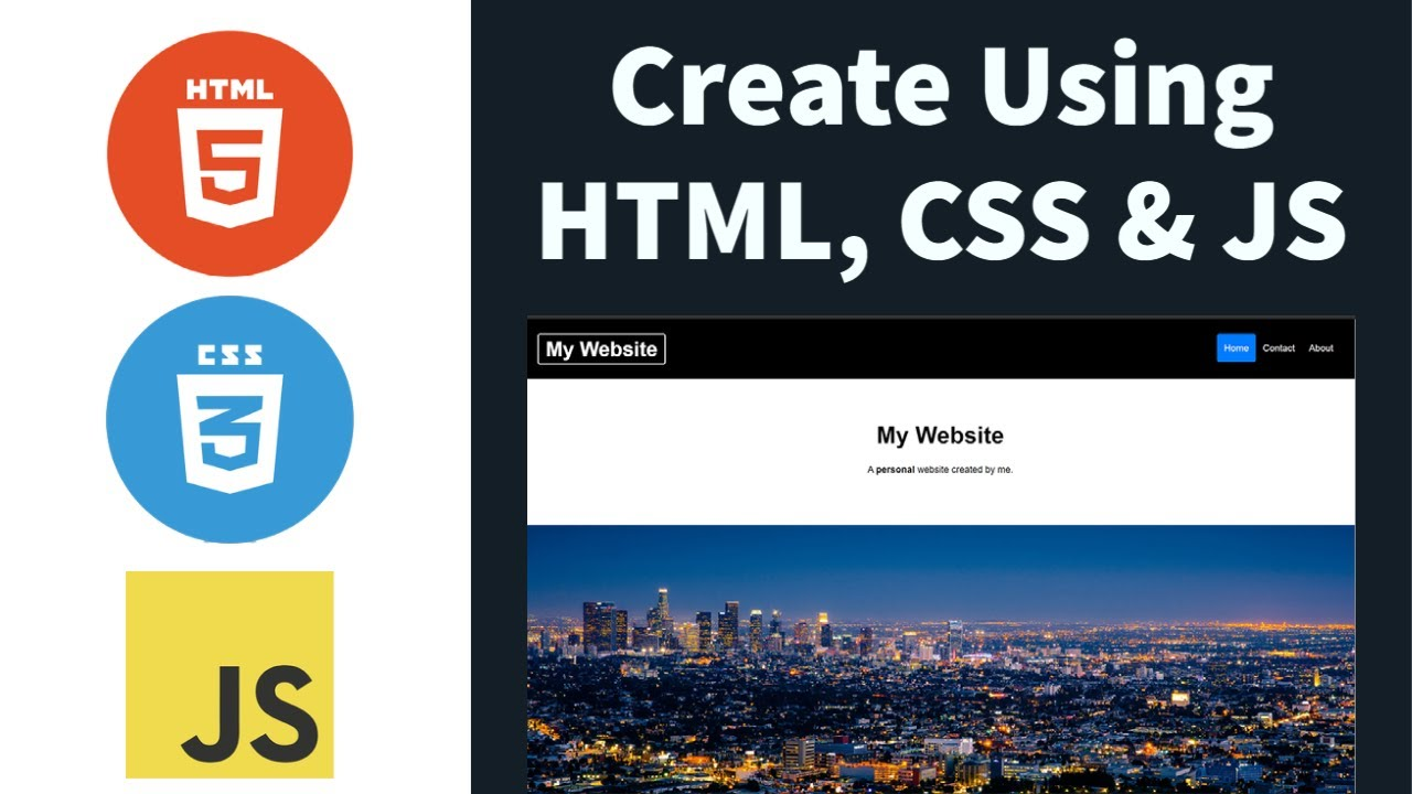 How To Create A Professional Website Using HTML, CSS, And JavaScript Step By Step Website Tutorial