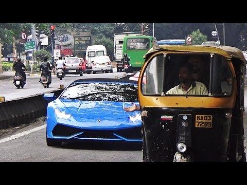 SUPERCARS IN INDIA (BANGALORE) NOVEMBER 2017 - Part 2