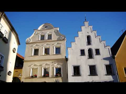 D: Weiden i.d.OPf.. Bavaria. Sights and Sounds of the City Center. October 2017