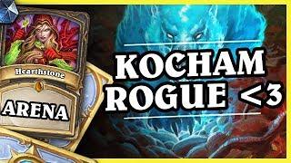KOCHAM ROGUE! - Hearthstone Arena