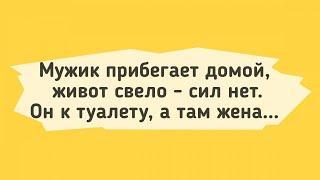 АНЕКДОТЫ У Мужика Понос Сборник Смешных Анекдотов