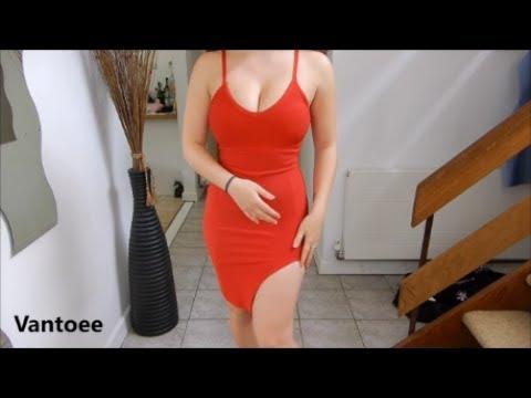 Red Dress Lookbook