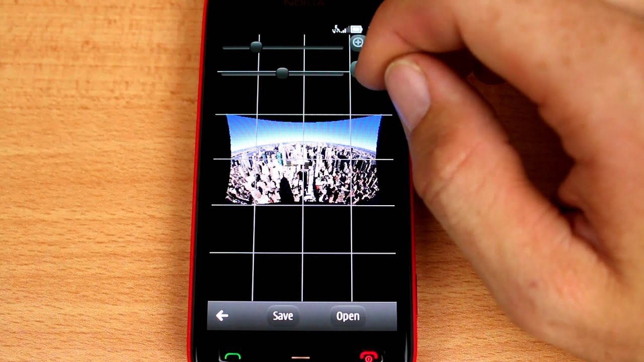 Photo Lens Corrector app (e g  for GoPro Hero) for Nokia Symbian and Meego