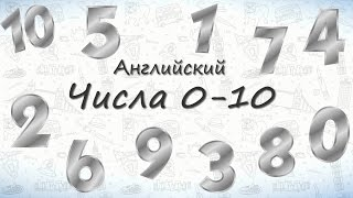 Числа на английском от 0 до 10.