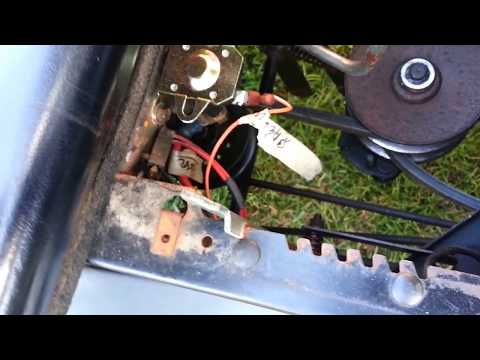 MTD Mower Tensioner Pulley Fixed And Updates