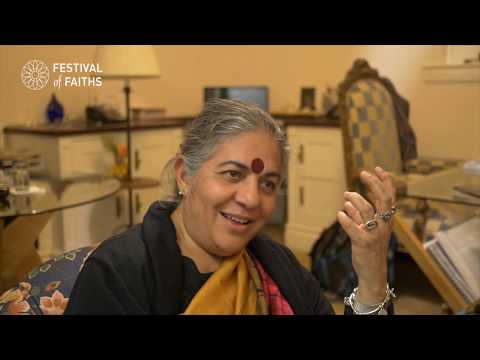 STORIES FROM THE ROAD #5 Vandana Shiva, Environmental Activist