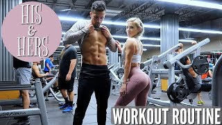HIS & HERS WORKOUT | What we do differently