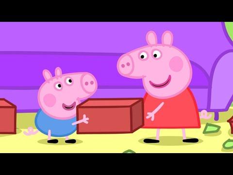 Peppa Pig Italiano -  Peppa Pig E La Casa Spezzata! - Collezione Italiano - Cartoni Animati