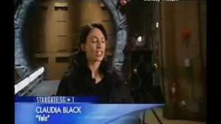 Claudia Black in Inside Stargate SG-1 200th Episode 2006