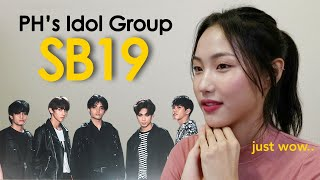 Former KPOP Idol Reacts to SB19 ALAB & Interview