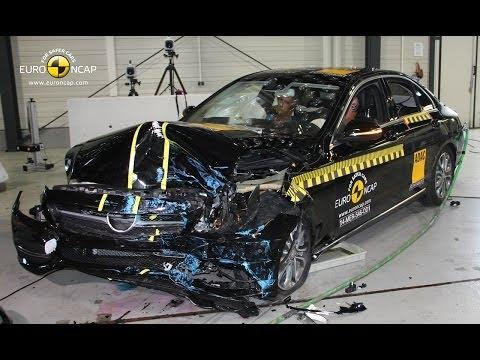 Euro NCAP Crashtest: Mercedes C-Klasse 2014 (W205)