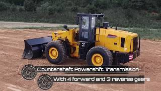 Lonking CDM858N 4.0 Yard Wheel Loader by IronDirect